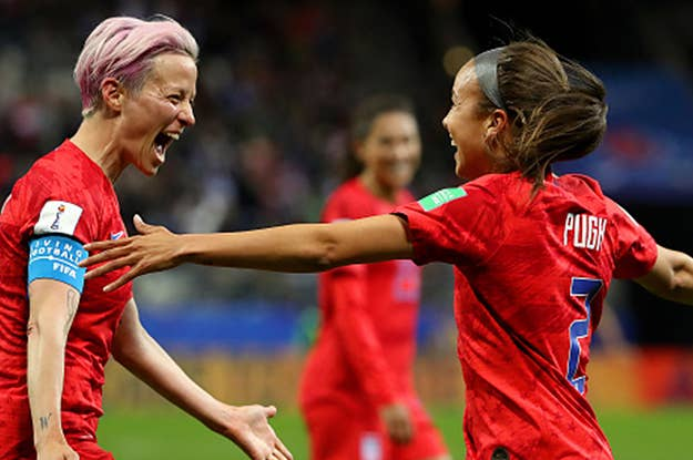 USA Is Heading To The Semi's Of The World Cup After Beating France 2–1