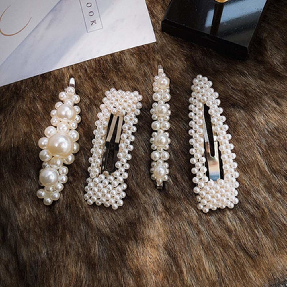 the pearl hair clips