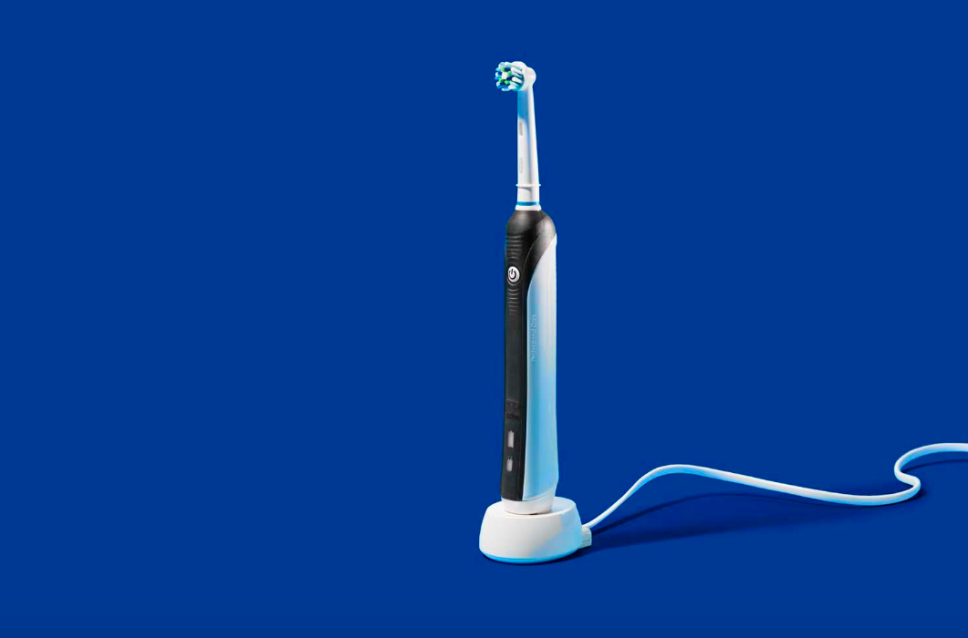 The electric toothbrush