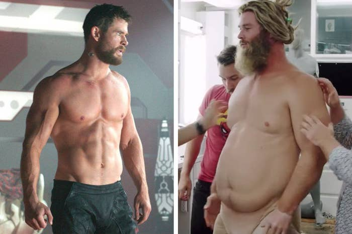 "Chris Hemsworth Revealed How He Transformed Into ""Fat Thor"" And It's A Lot"