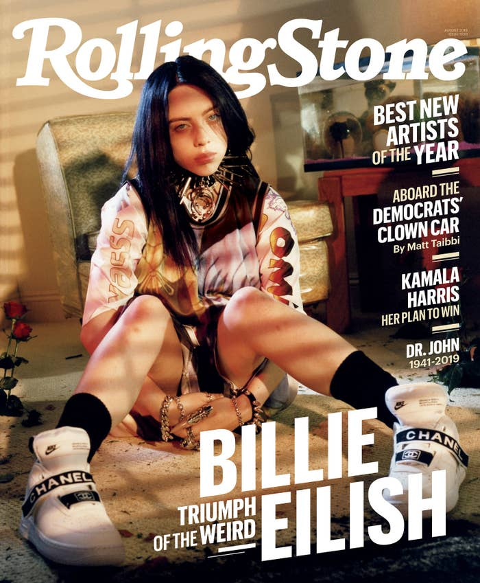 Billie Eilish Got Candid About Fame And Mental Health For Her First Rolling Stone Cover