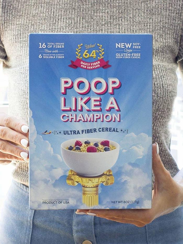 Poop Like A Champion Ultra Fiber Cereal