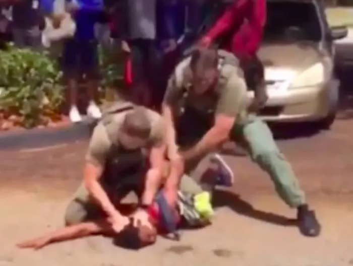 The Florida Deputies Who Slammed A Black Teen's Head Into The Ground In A Viral Video Have Been Charged