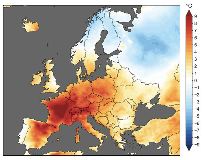 Last Month Was The Hottest Ever June On Record, Thanks To That European Heat Wave