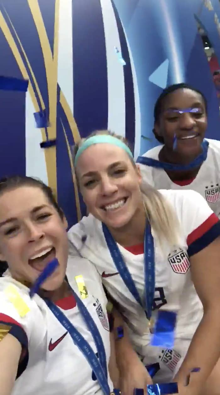 31 Pictures Of The US Women's World Cup Soccer Team