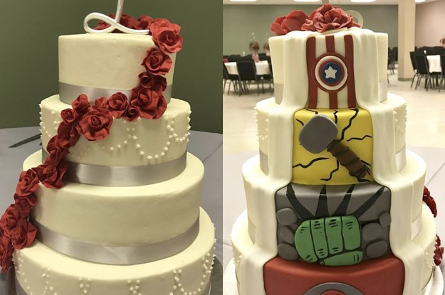 15 Marvel-Inspired Wedding Cakes That Look Equal Parts Cool And Classy