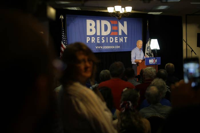 """Joe Biden Told A Voter He'll """"Go Further"""" Than Cutting Incarceration By 50%"""