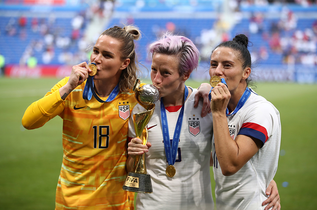 Lesbians Won The Women's World Cup
