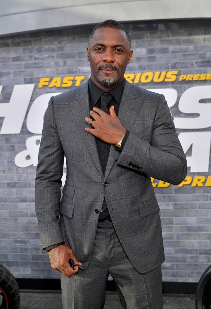 Idris Elba Hot Ones Interview