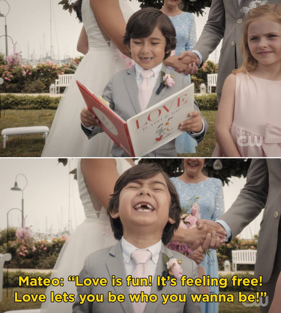 TV Moments, In Jane the Virgin, the revelation after five seasons shows that the narrator had been Jane's son all along.