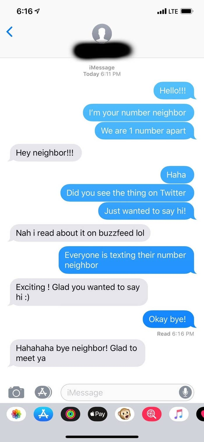 Bebe Rexha Texted Her Number Neighbor And They Ignored Her