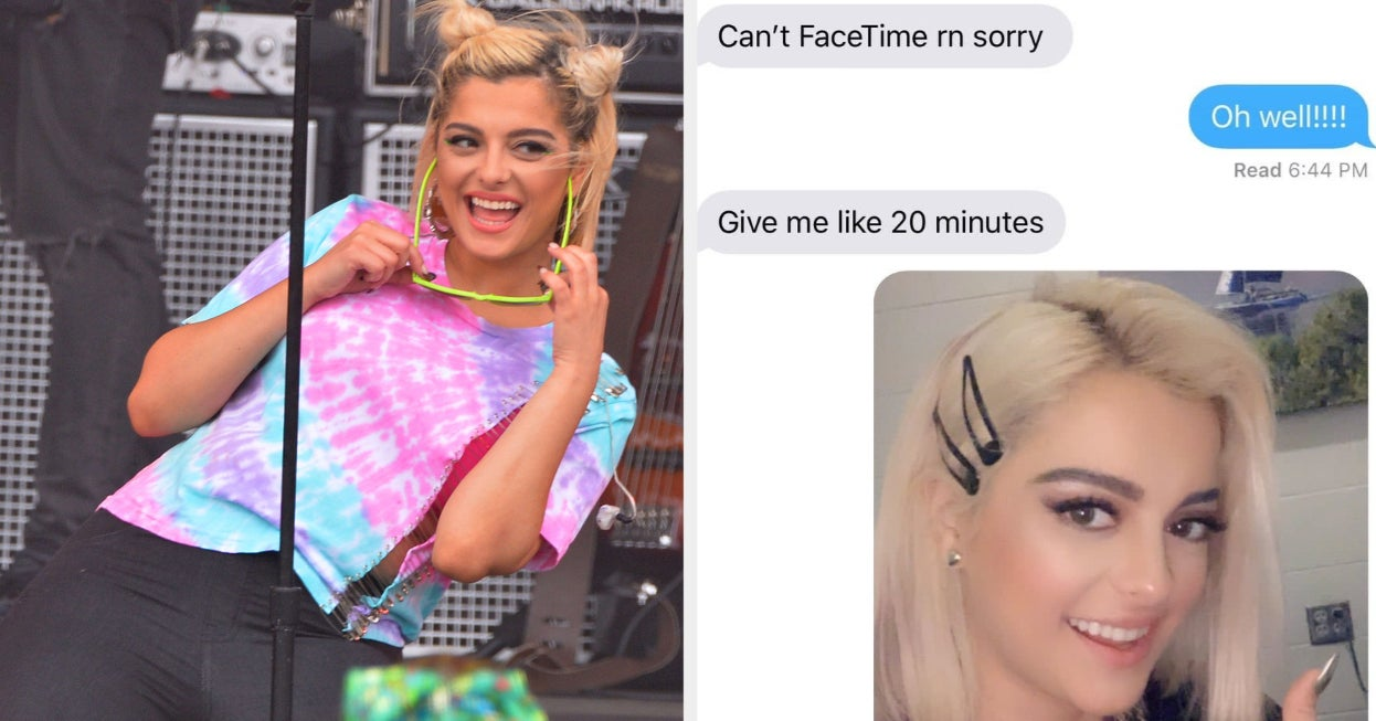 Singer Bebe Rexha Texted Her Number Neighbor And I'm Cackling At This Conversation