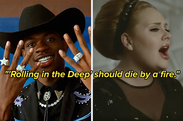 28 Popular Songs That Are Actually 100% Bad