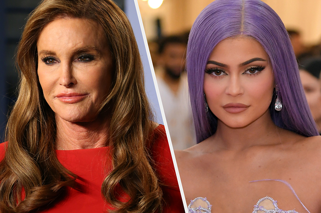Caitlyn Jenner Posted Four Photos Of Kendall On Kylie's Birthday And It's So Awkward