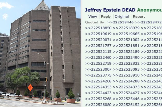 Epstein's Death Was On 4Chan Before Officials Announced It — And Authorities Had To Look Into It