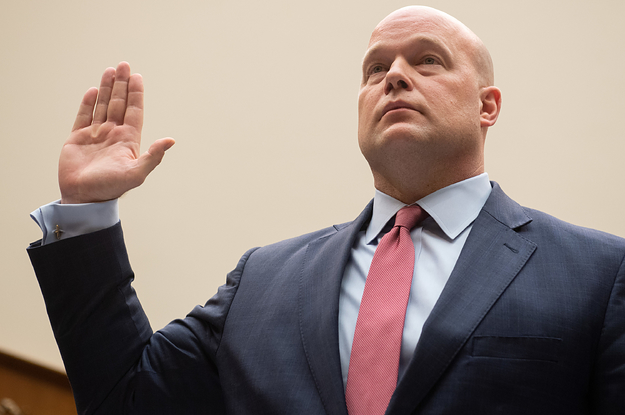 Matthew Whitaker's Conflict Of Interest Forms Weren't Screened Until Just Before Trump Put Him In Charge Of The DOJ. They Were Incomplete.