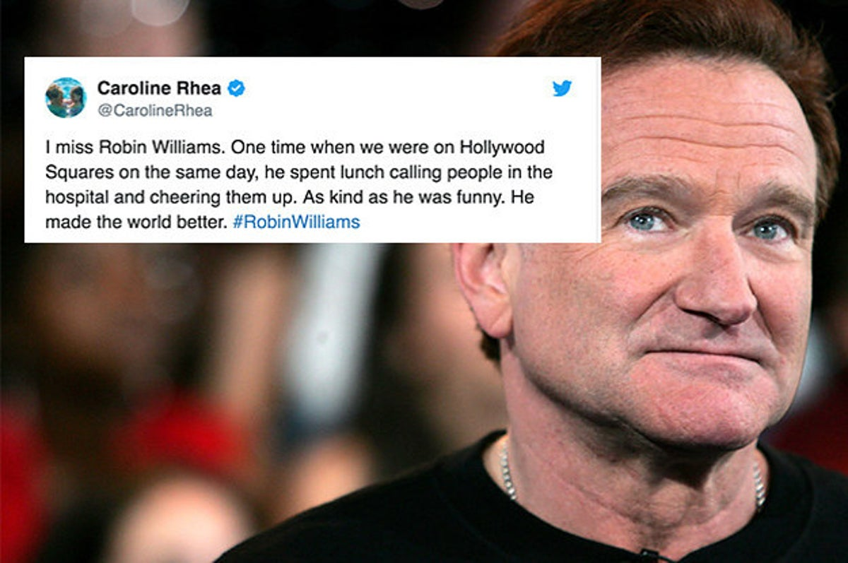 20 Tweets About Robin Williams That Prove He Was A Beautiful Soul