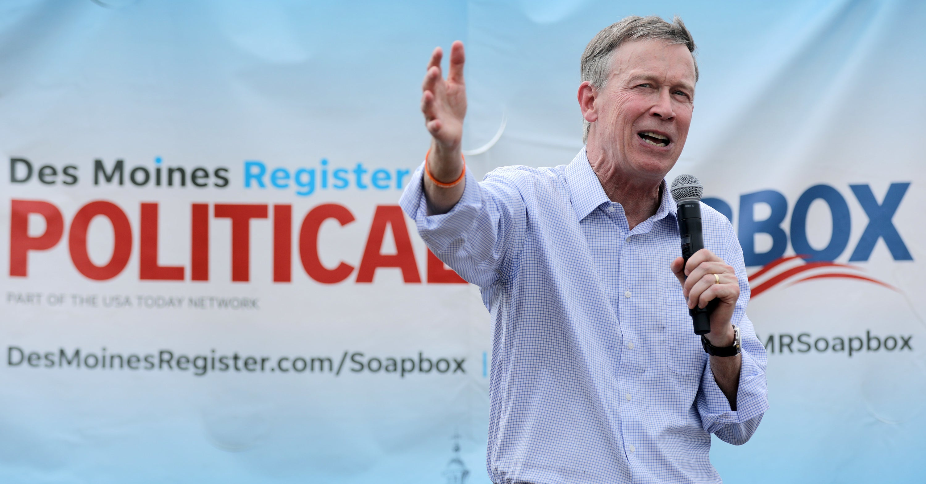 John Hickenlooper Will Drop Out Of The Presidential Race