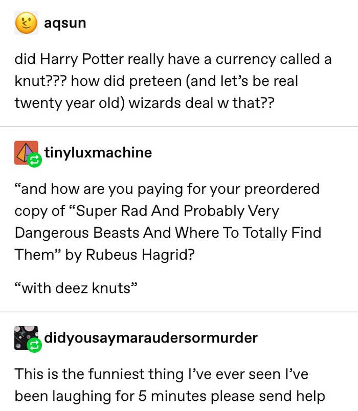 "18 Times Tumblr Was Funny As Hell About ""Harry Potter"""