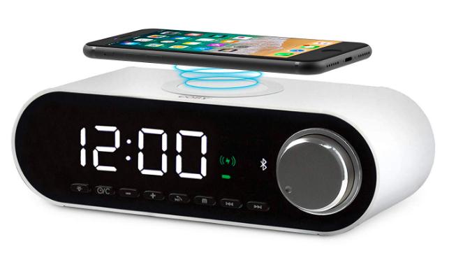 COBY Digital LED alarm clock