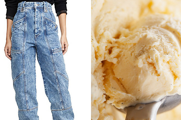 Spend Your Paycheck On Designer Clothes And We'll Say What Ice Cream Flavor You Are