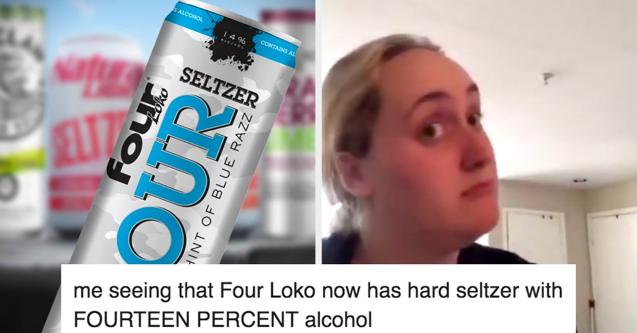 Four Loko Just Announced A Hard Seltzer, So Here Are The Best And Funniest Tweets About It