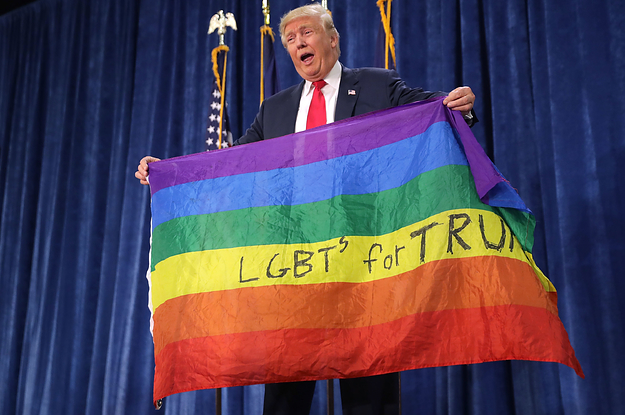 Trump's Latest Proposal Would Let Businesses Discriminate Based On LGBTQ Status, Race, Religion, And More