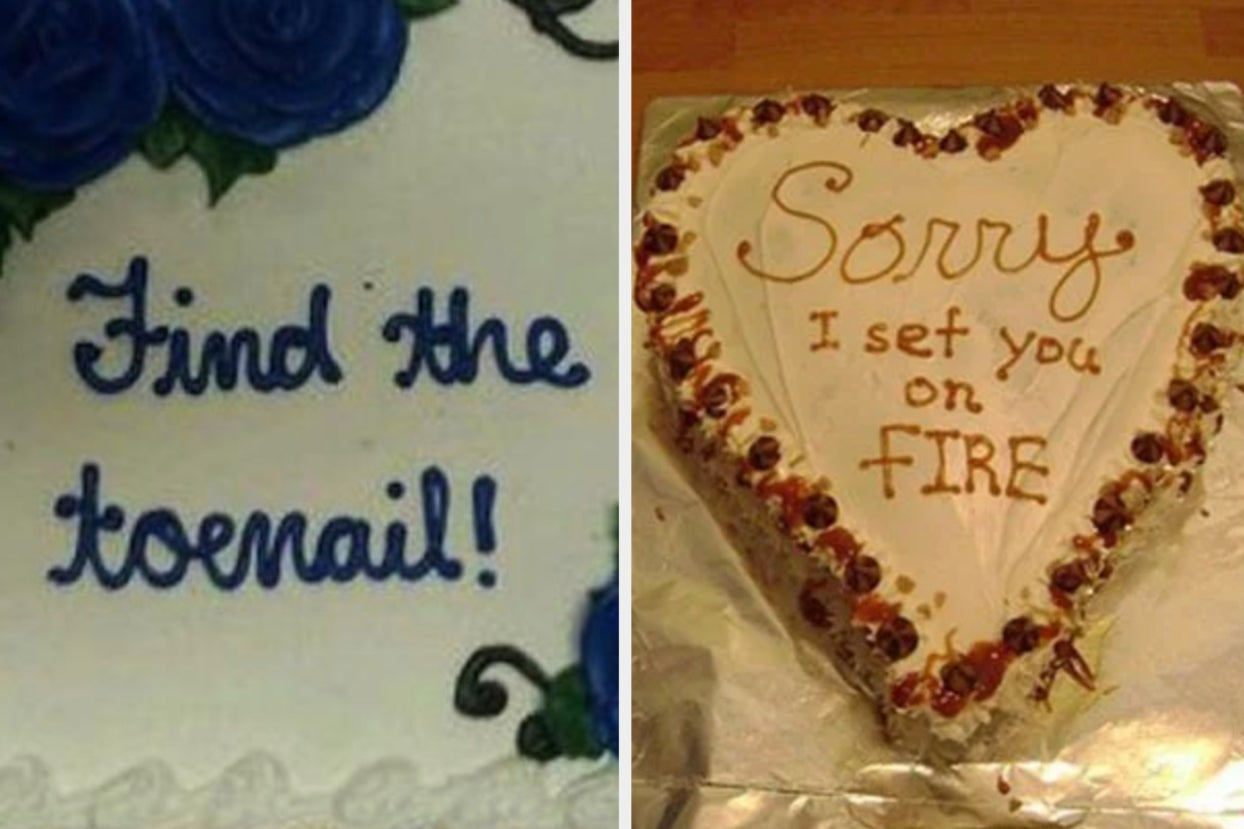 Just 17 Really Really Funny Cakes