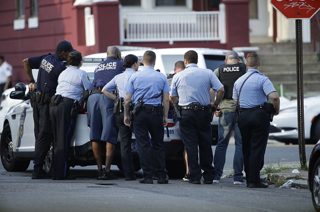 Six Police Officers Have Been Shot By A Gunman In Philadelphia
