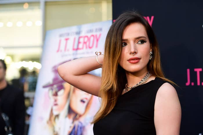 Bella Thorne Collaborates With Pornhub For Her Directorial ...