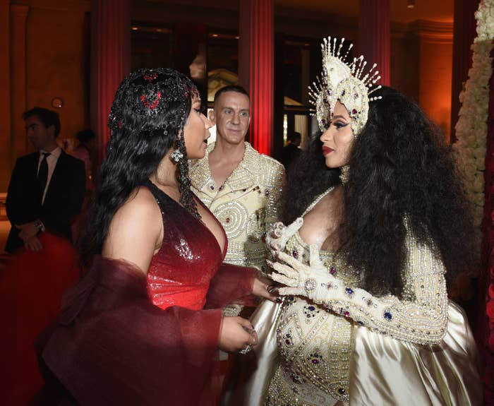 The Nicki Minaj And Cardi B Feud Might Not Be Over After All And Things Are Getting Messy