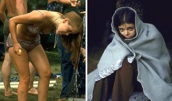 Estas fotos mostram a desgraceira que Woodstock foi na realidade