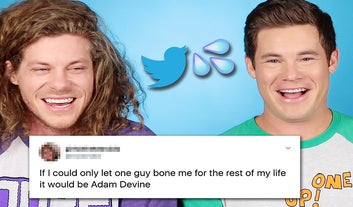 Adam Devine And Blake Anderson Are Horrified At Your Thirst