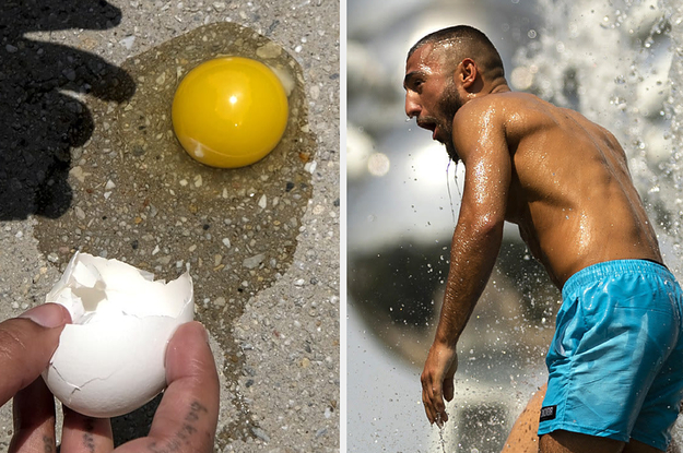 These Pictures Show What The Hottest Month ...