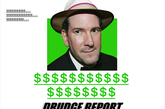 Matt Drudge Has Barely Changed Anything About The Drudge Report In The Last 20 Years. This Summer, He Upended Its Advertising Business.