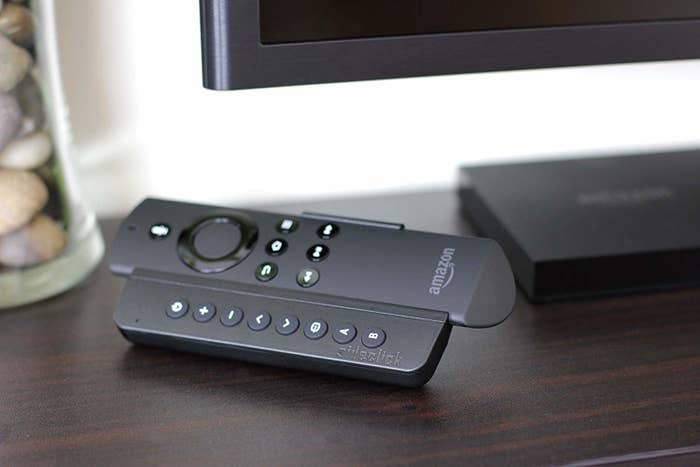 An attachment on an Amazon Fire Stick remote