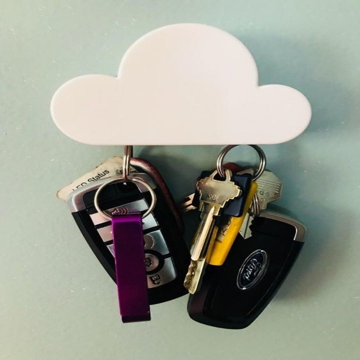 reviewer photo of the key holder in use