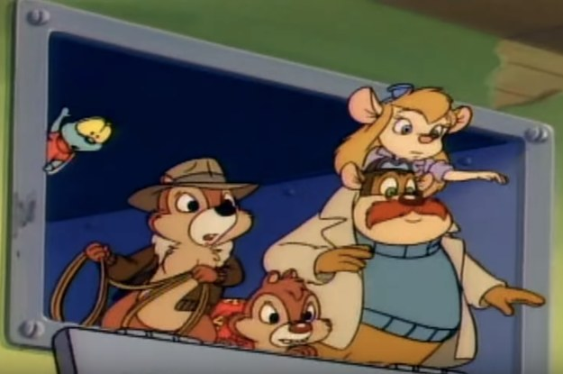"Can You Remember The Lyrics To The ""Chip 'N Dale: Rescue Rangers"" Theme Song?"