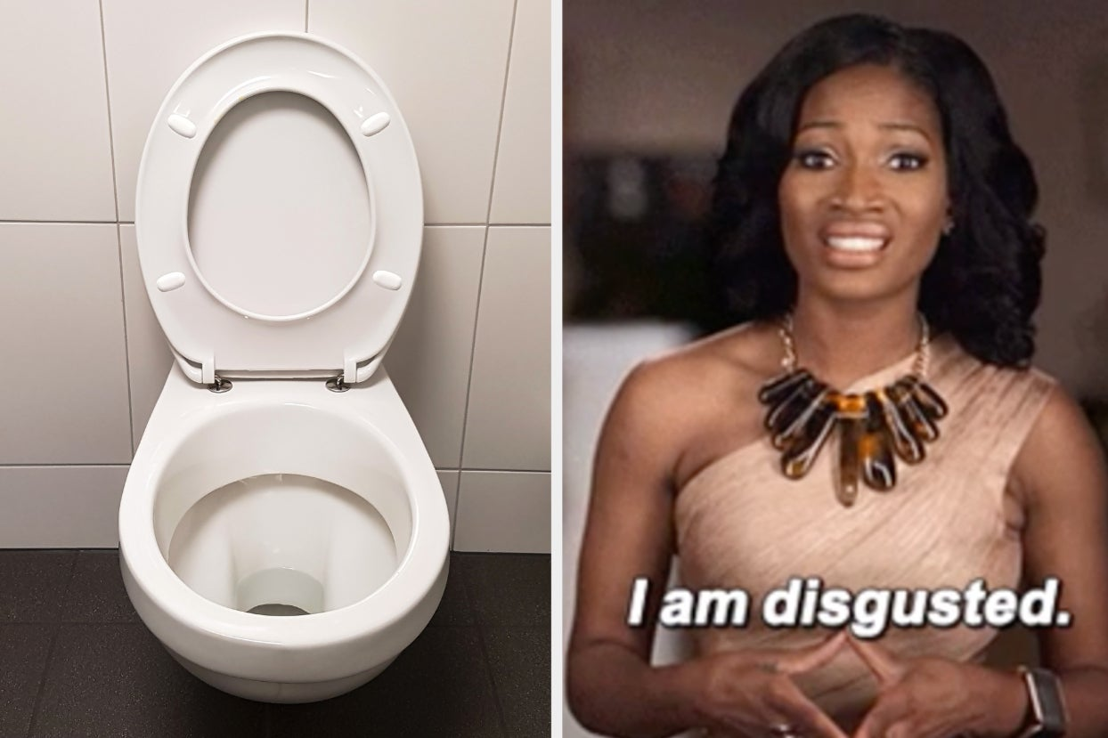 To All The Women Who Have Accidentally Sat On The Toilet Rim: You're Not Alone