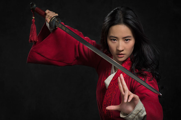 "Calls To Boycott The New ""Mulan"" After Its Star Spoke In Support Of Hong Kong Police"