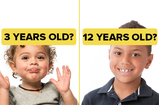 Can You Correctly Estimate The Ages Of These Kids?