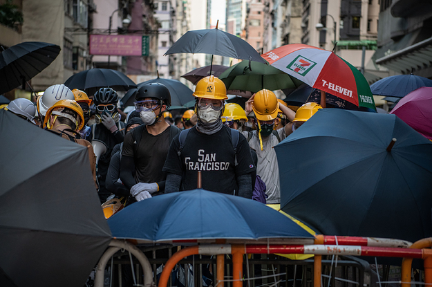 Facial Recognition And Undercover Cops: How Paranoia Set In Among Hong Kong Protesters