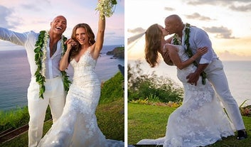 Dwayne Johnson Just Casually Announced That He Got Married Over The Weekend