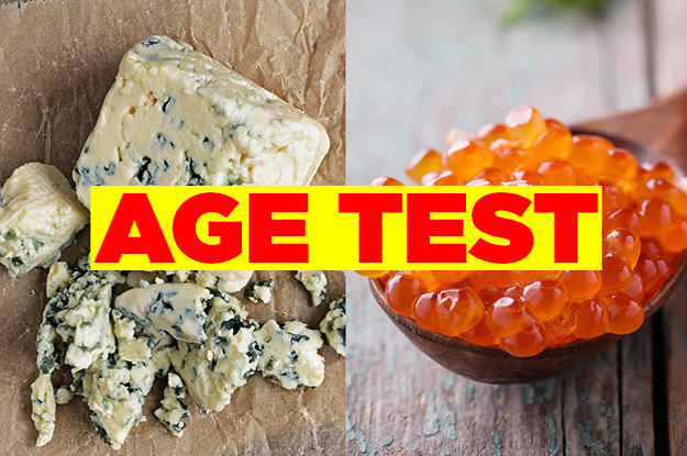 This Gross Food Quiz Was Strategically Designed To Tell Us How Old You Are