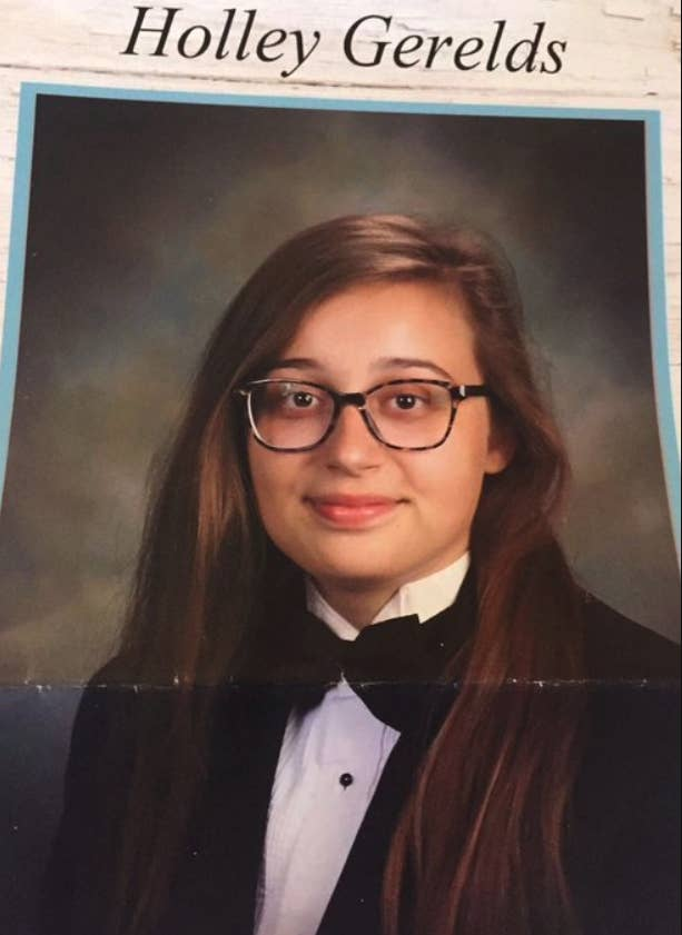 http://fiftyshadesofgay.co.in/USA/She wore a Tuxedo. The School left her out of the Yearbook.