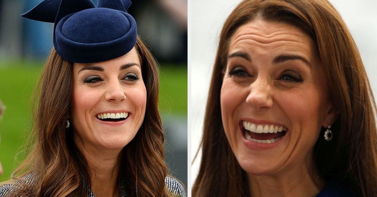 Kate Middleton Might Be The Happiest, Most Animated Person On Planet Earth