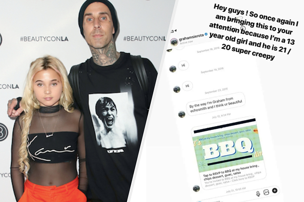 A Musician Has Apologised After Travis Barker Called Him Out For Messaging His 13-Year-Old Daughter