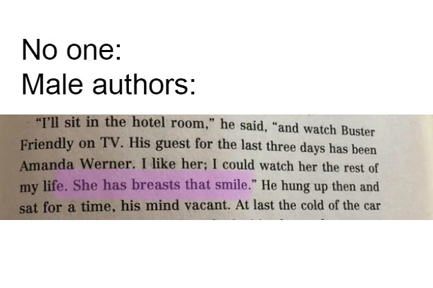18 Men Who Need To Be Banned From Writing Female Characters Forever