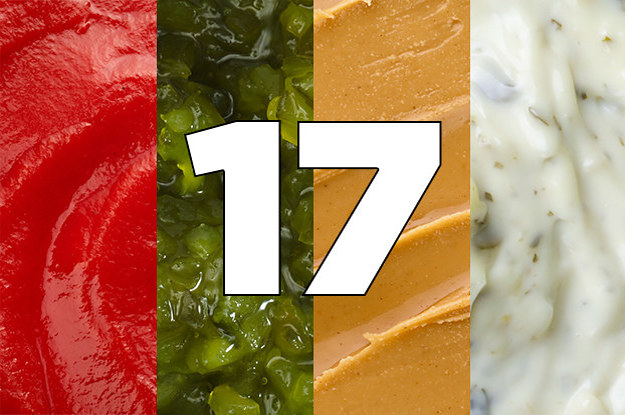 Most People Can't Identify 17 Condiments In ...