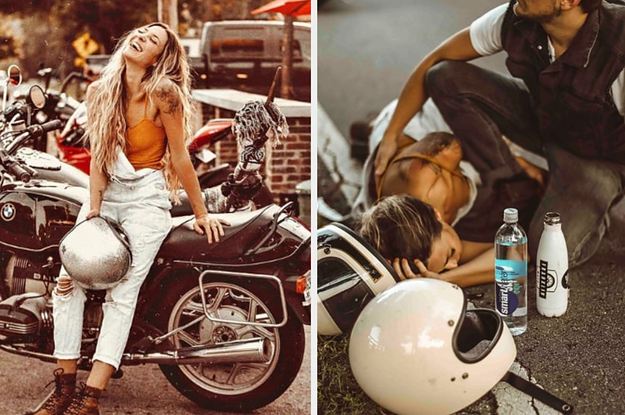 An Influencer Is Defending Her Decision To Post A Photo Shoot Of Her Motorcycle Accident On Instagram